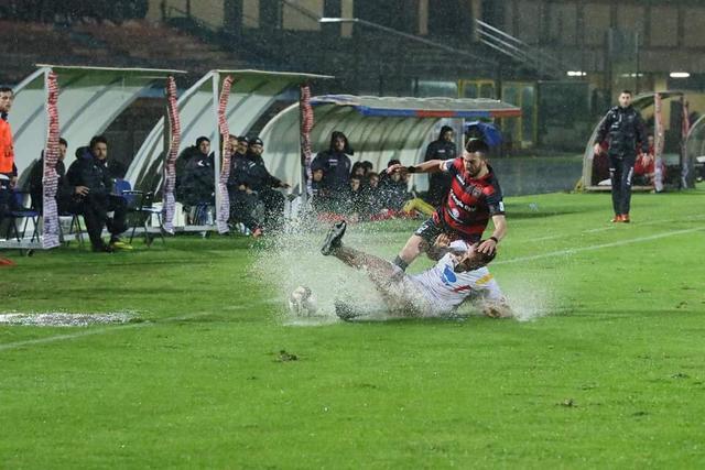 Una fase del match - Foto Francesco Donato
