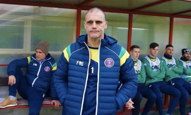 Stefano Sanderra, allenatore del Fondi - Foto Francesco Donato