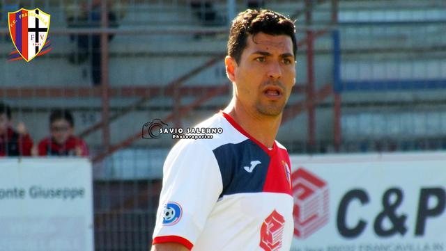 Gerardo Masini, attaccante del Francavilla in Sinni - Foto Savio Salerno