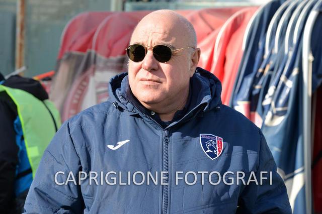 Massimo Giove, presidente del Taranto