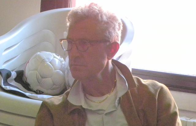 MIster Chierico nel giorno della presentazione alla stampa