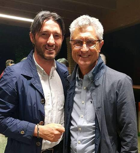 Mister Chierico insieme a Marco Dalcerri