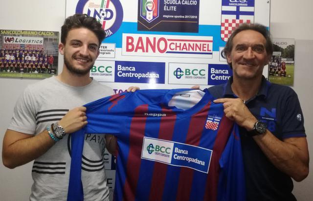 Edoardo Maggi con il direttore sportivo Mauro Faversani