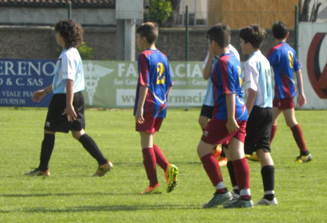 Esordienti 2006 in campo al Memorial Cup