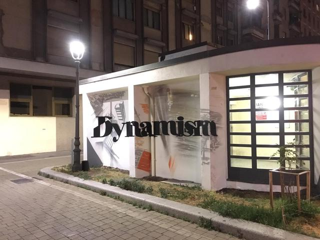"""Dynamism"", Manu Invisible - Via Sammartini"