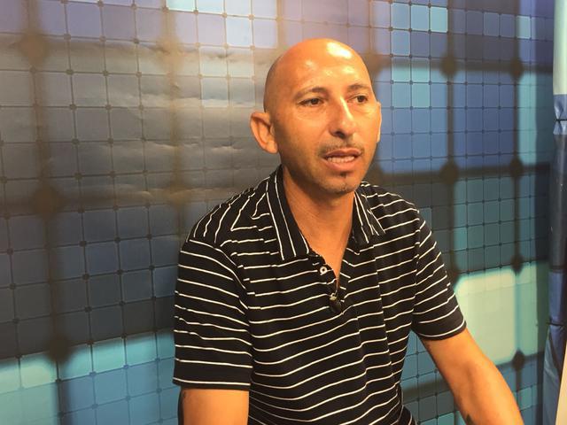 L'allenatore Danilo Rufini