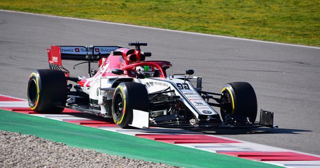 Giovinazzi sulla sua Alfa Romeo C38, foto www.formula1.com