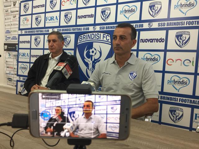 La conferenza stampa di Olivieri