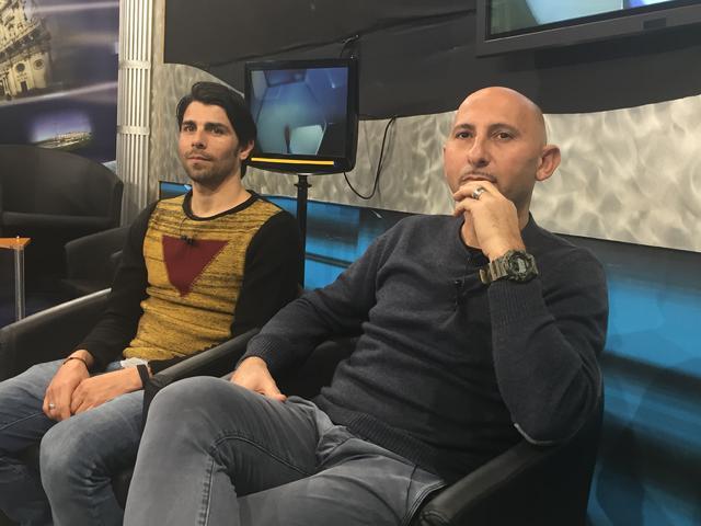 Rufini e Merito a Studio 100 Tv