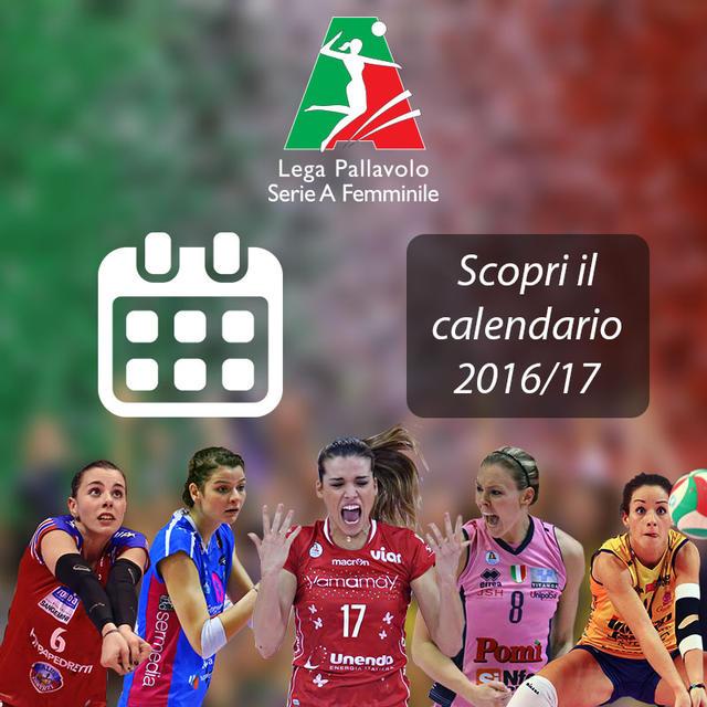 Serie A Pallavolo Femminile Calendario.Il Calendario De Il Bisonte Per La Serie A1 2016 17