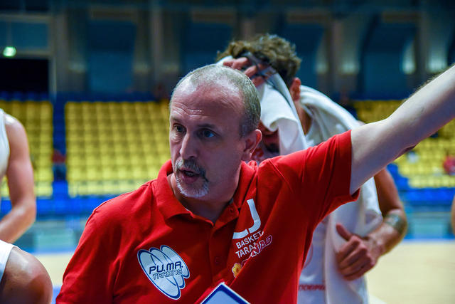 Coach Olive (foto Castellaneta)