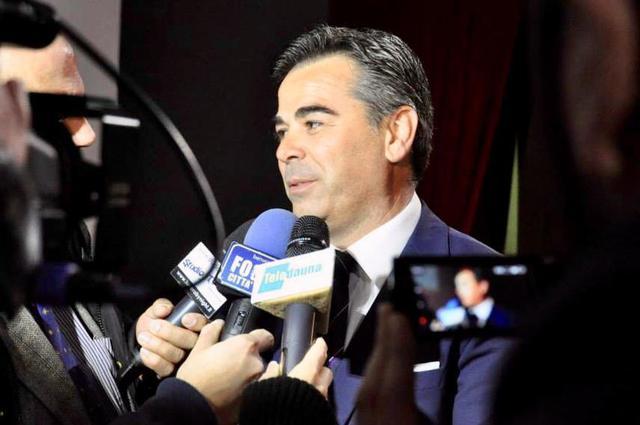 Franco Landella, sindaco di Foggia - Foto pagina Facebook Franco Landella