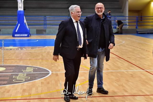 il presidente Sergio Cosenza
